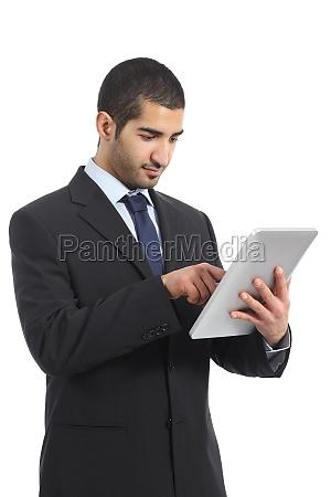 arab business man working using a