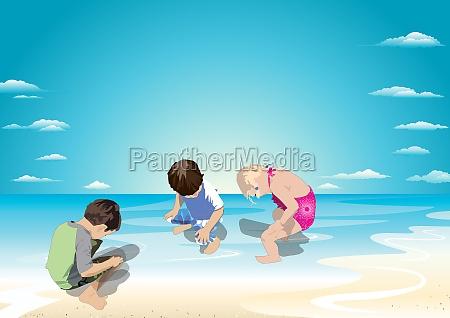 fun to pee in the water