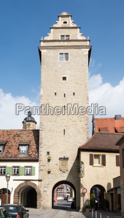 tower in volkach