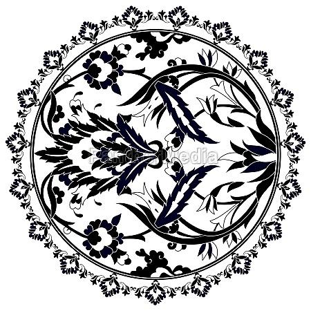 ottoman motifs design series with twenty