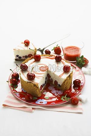 berries berry bilberries bilberry biscuit base