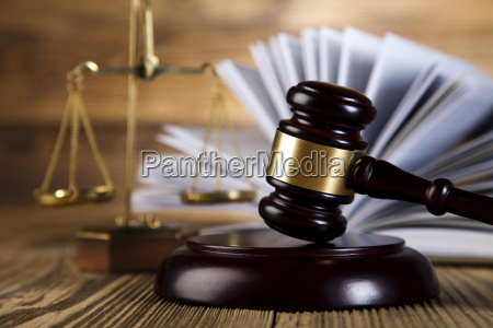wooden gavel barrister justice concept legal