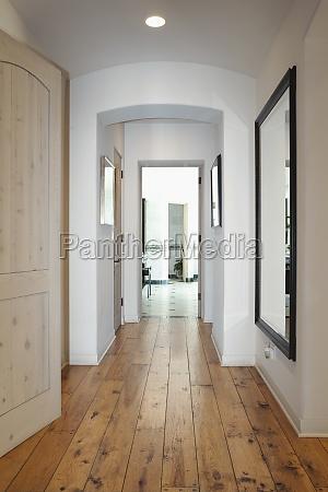 california color image doorway entrance hallway