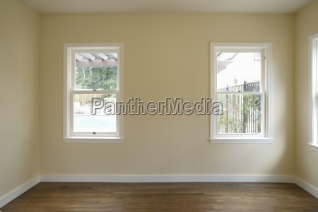 empty room in home pasadena california