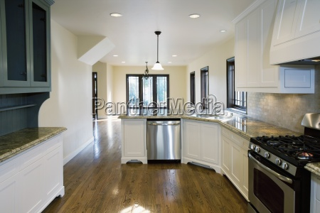 hardwood floor in kitchen pasadena california