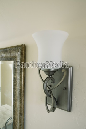 contemporary sconce on wall pasadena california