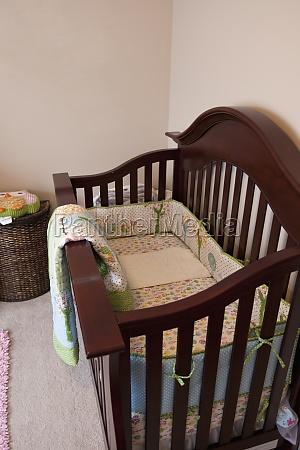 wooden baby crib laguna beach california