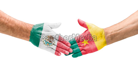 handshake mexico and cameroon