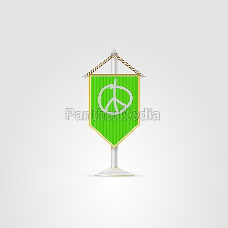 illustration of hippie symbolics pacific