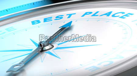 travel agency best place concept