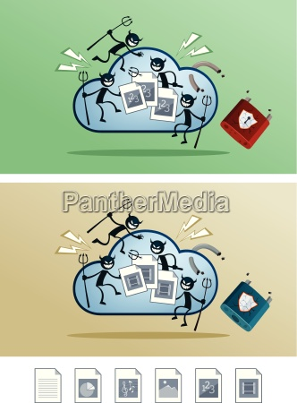 file in the cloud storage damaged