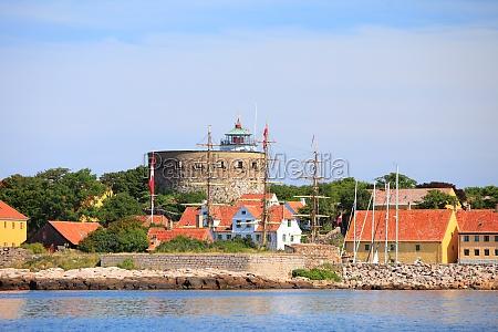 the big tower christiansoe bornholm denmark