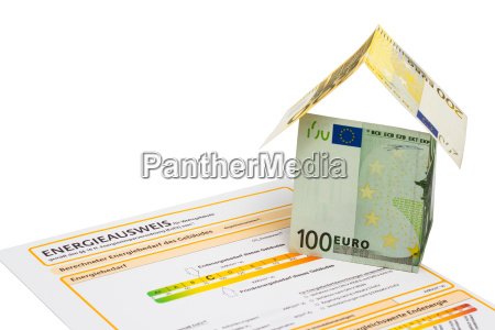 energy certification and house of banknotes