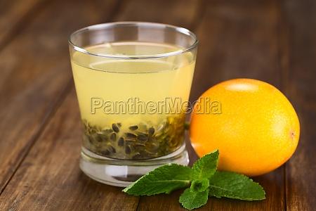 sweet granadilla juice