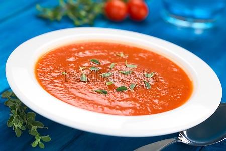 vegetable oregano tomato soup pottage tomato