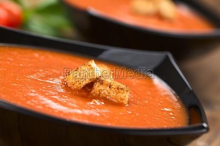 vegetable tomato soup pottage tomato soup