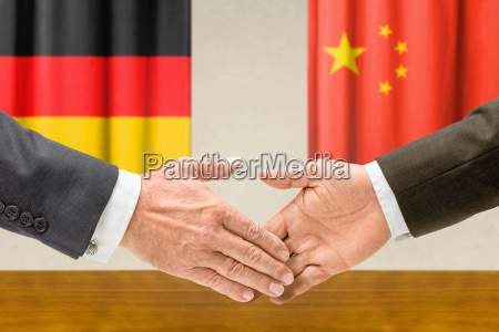representatives of germany and china reach