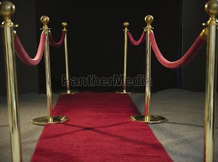 carpet nightlife security red rope barrier