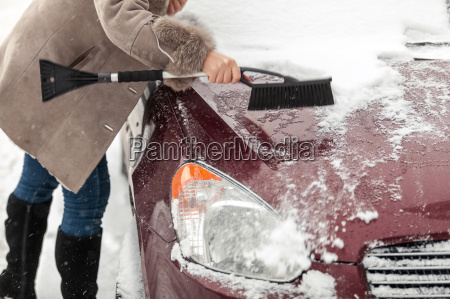 photo of woman holding brush and