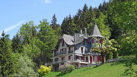villa near the forest