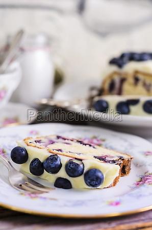 cheesecake cheesecake blueberries topping