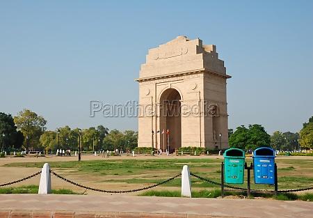 indian gate in new delhi india