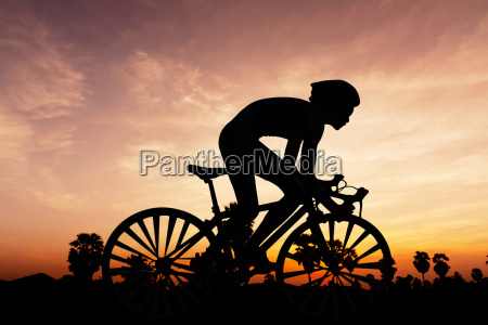 cycling triathlon on twilight time
