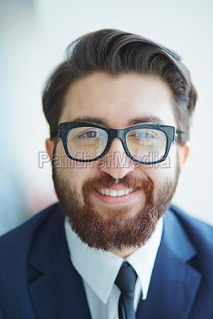 stylish businessman