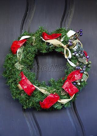 christmas wreath decoration mission san luis