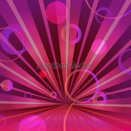 abstract burgundy background with circles and