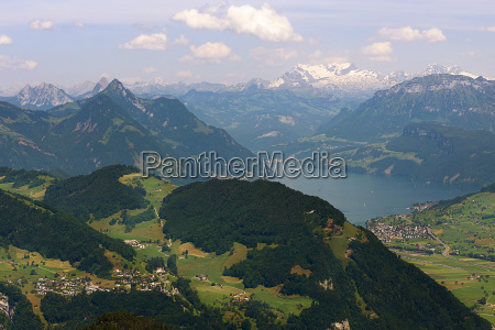 view from pilate to glaernisch