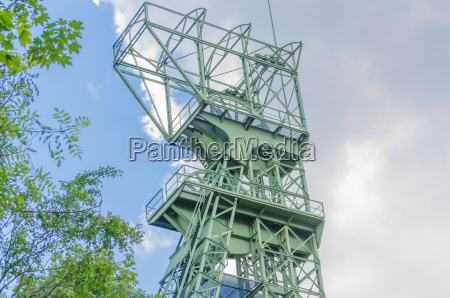 headframe zeche carl funke in essen