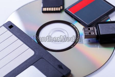 various storage media usb cd disk