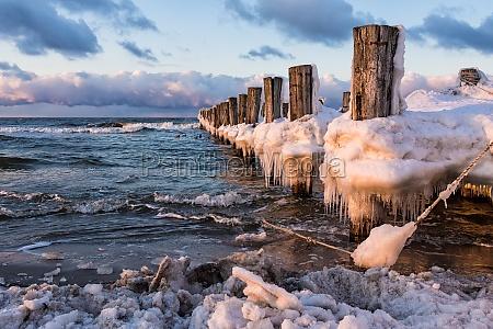 ferias inverno madeira frio por do