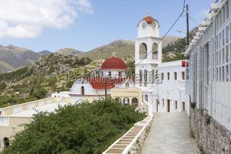church in messochori on karpathos greece