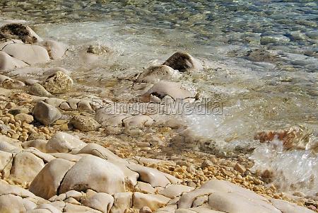 pebbles on the beach pebble
