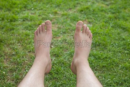 self feet photo
