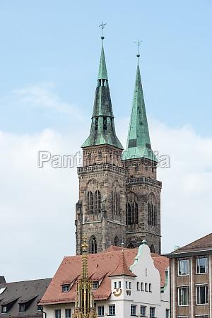 towers of st sebald church