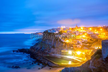 azenhas do mar village sintra portugal