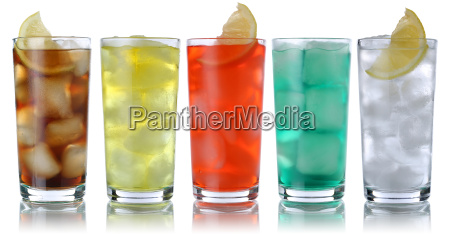 drinks with cola and lemonade
