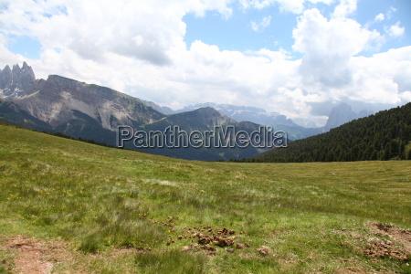 dolomites south tyrol path way landscapes