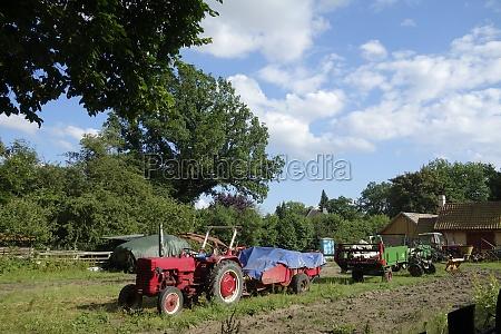 historic tractor