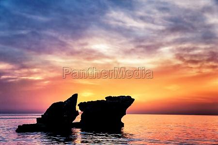 beautiful rocks landscape