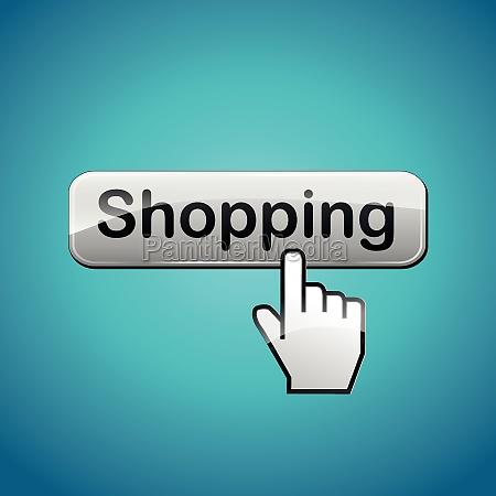 vector shopping concept illustration