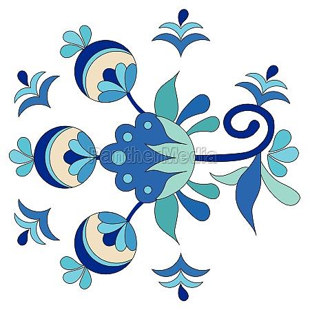 ottoman art flowers twenty seven