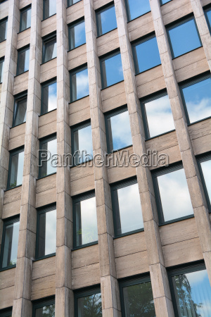 window in the facade of an