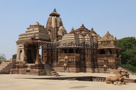 the temple city of khajuraho in