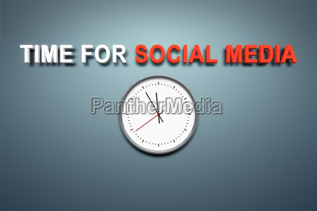 time for social media at the