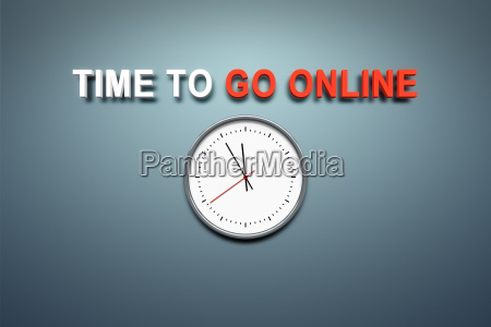 time to go online at the