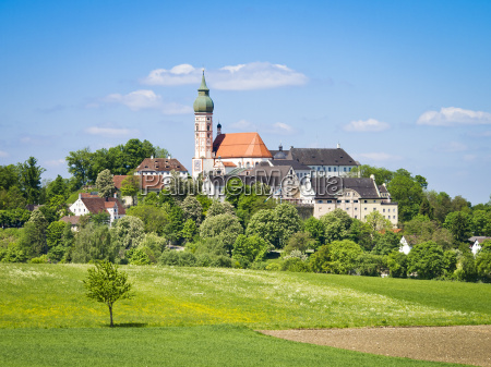 andechs monastery in bavaria germany